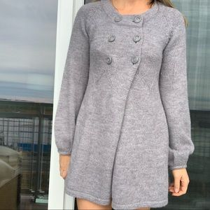 French Connection Alpaca Wool Cardigan Sweater